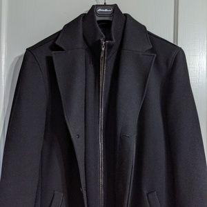 Cole Haan Wool Blend Topcoat